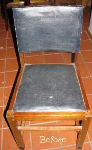 PWD stoel Before